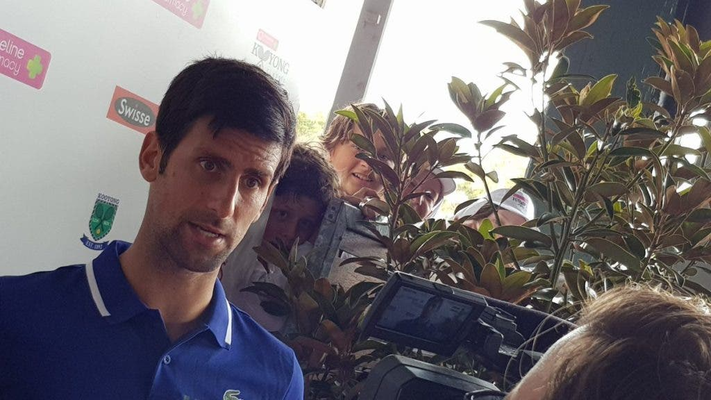 Djokovic: «Nunca duvidei que de voltaria a jogar. Adoro este desporto»