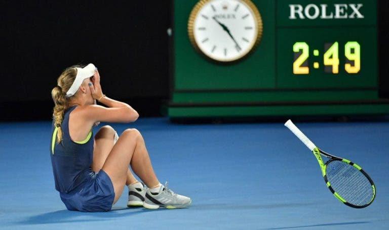 [VÍDEO] Foi ASSIM que Caroline Wozniacki venceu finalmente o seu primeiro Grand Slam
