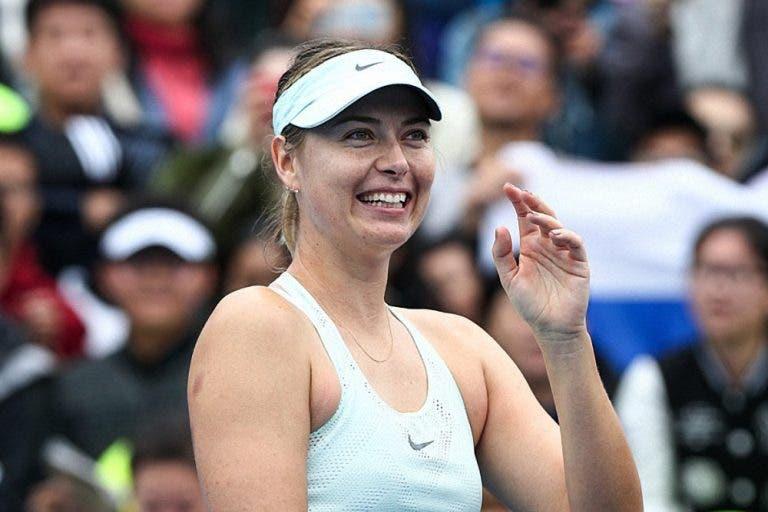 Navratilova rendida a Sharapova: «Nunca deixou de ser quem era»