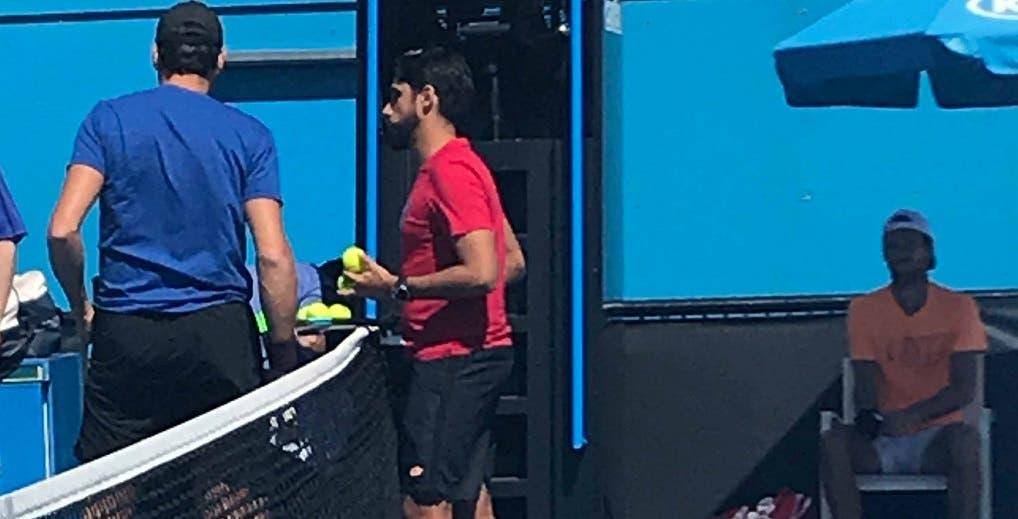 [VÍDEO e FOTOS] João Sousa treina com Milos Raonic em vésperas da estreia no Australian Open