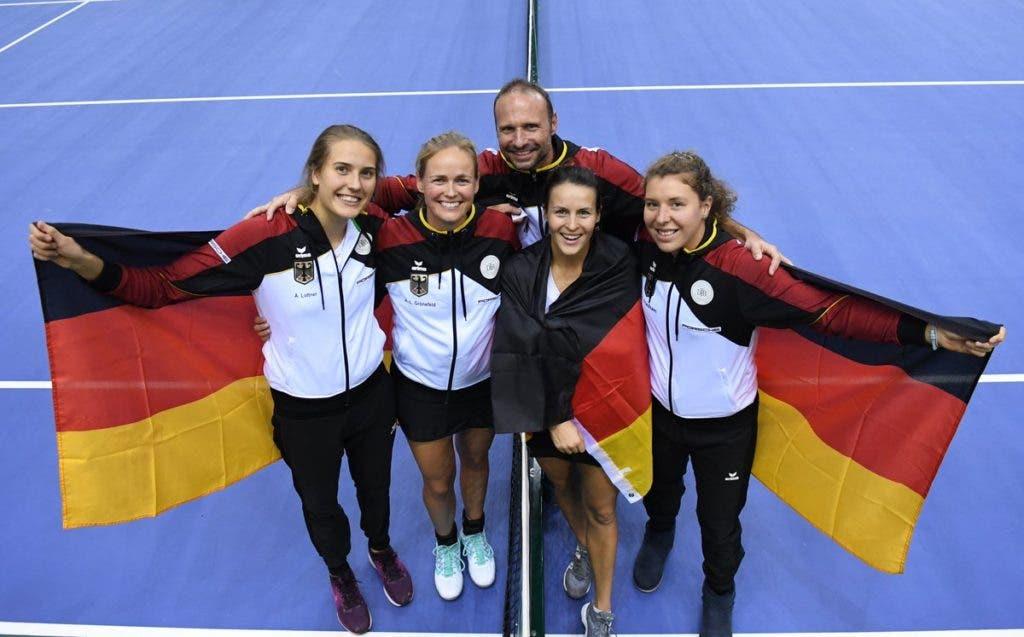 Alemanha vai à Bielorrússia sem Kerber, Goerges, Petkovic, Lisicki, Witthoeft e Barthel mas… ganha na mesma