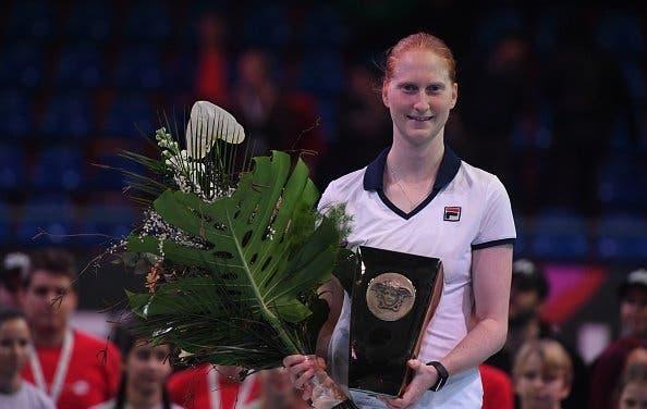Van Uytvanck surpreende Cibulkova, ganha segundo título e volta ao top 50