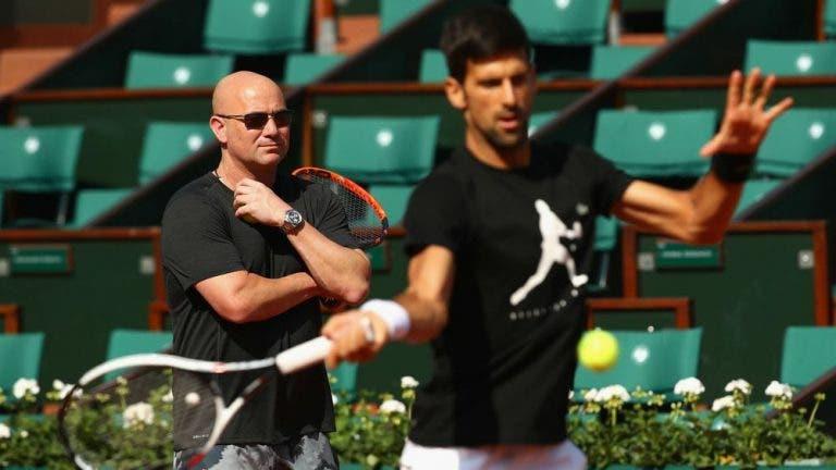 Agassi: «É bom para o ténis ter Djokovic no topo»