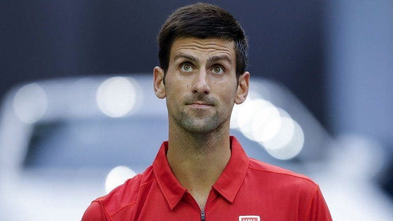Djokovic regista pior ranking desde 2007 e pode sair do top 30 esta semana