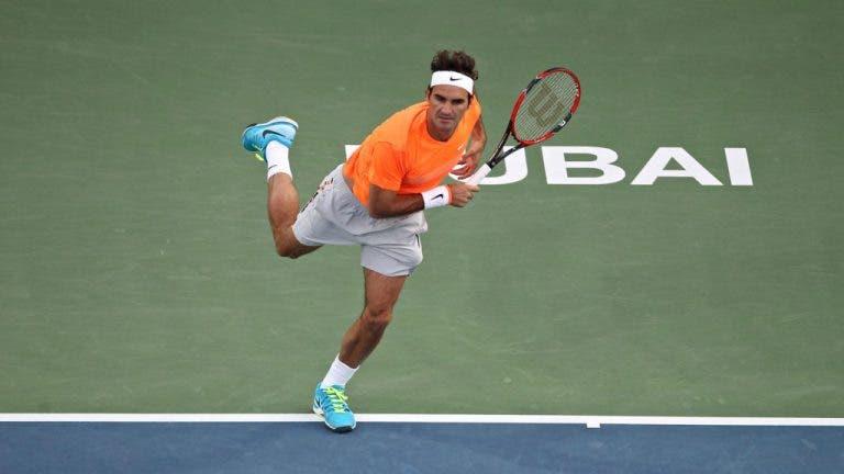 Efeito Federer? Toda semana do ATP 500 do Dubai está… ESGOTADA