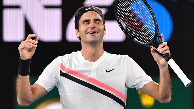 """O número um e o RF97. """"Esta é uma semana que nunca mais vou esquecer"""", admite Federer"""