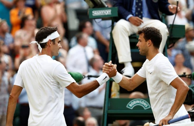 Dimitrov e o duelo com Federer: «A minha história com ele não é positiva mas posso oferecer uma boa batalha»