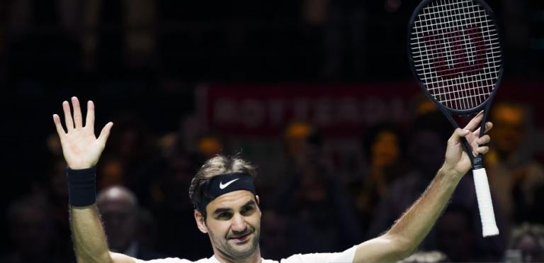 Roger Federer está nas meias-finais em Roterdão e é o novo NÚMERO UM MUNDIAL