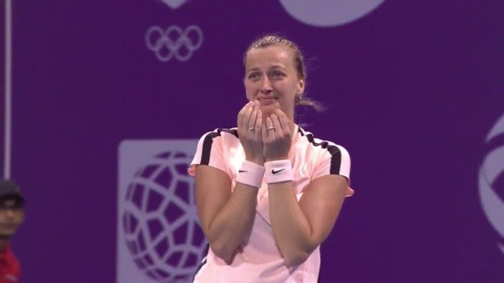 Kvitova coloca a República Checa pela 10.ª vez consecutiva nas meias-finais da Fed Cup