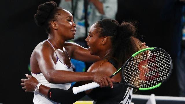 Serena e Venus Williams vão voltar a defrontar-se ainda em 2018