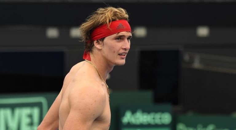 Zverev responde a Ferrero: «Nunca cheguei atrasado a um treino e jamais direi mal dele»