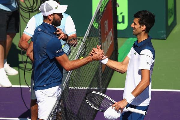 Paire após bater Djokovic: «Espero que ele volte ao seu melhor»