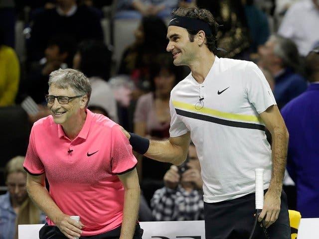 Bill Gates confessa: «Fiquei impressionado na primeira vez que falei com o Federer»
