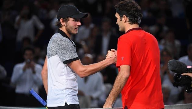 Lucas Pouille confessa que Roger Federer influenciou a decisão de se mudar para o Dubai