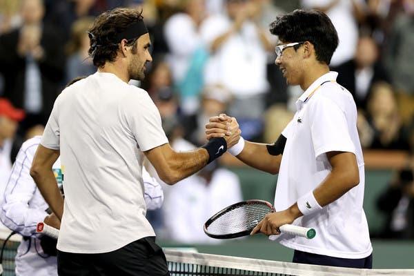 Chung: «Oxalá consiga aprender muito com o Federer»