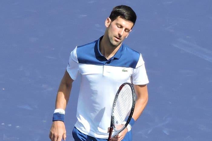 Djokovic após a derrota em Indian Wells: «Senti que foi o meu primeiro encontro no circuito. Foi muito estranho…»