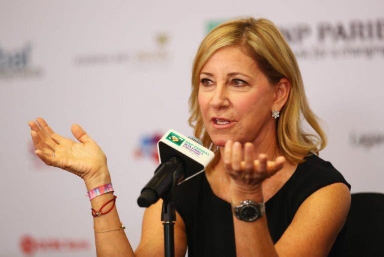 Evert e o coronavírus: «Sinto orgulho da resposta do mundo do ténis»