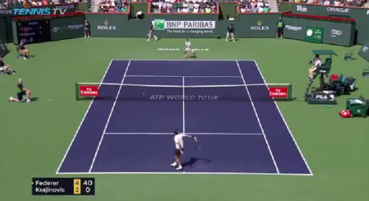 [VÍDEO] A arte do (bom) amorti, por Roger Federer