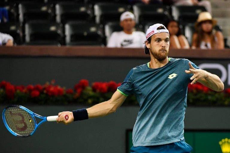João Sousa defronta jovem norte-americano na estreia em Indian Wells