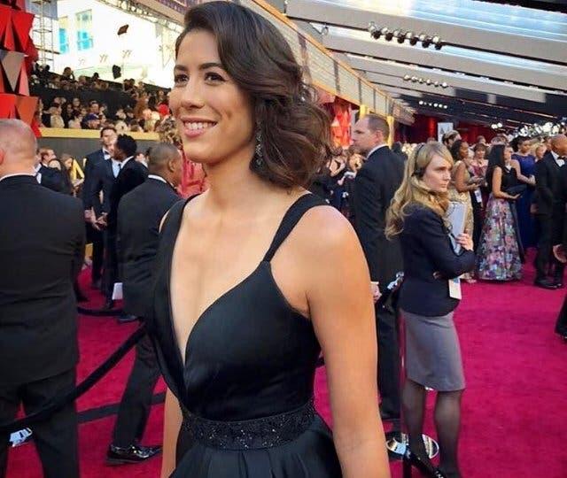 Garbine Muguruza deslumbra na red carpet dos Óscares