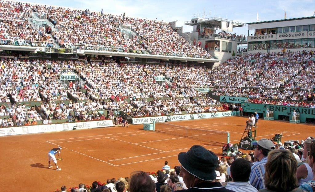 Roland Garros vai ter relógio no court durante o qualifying