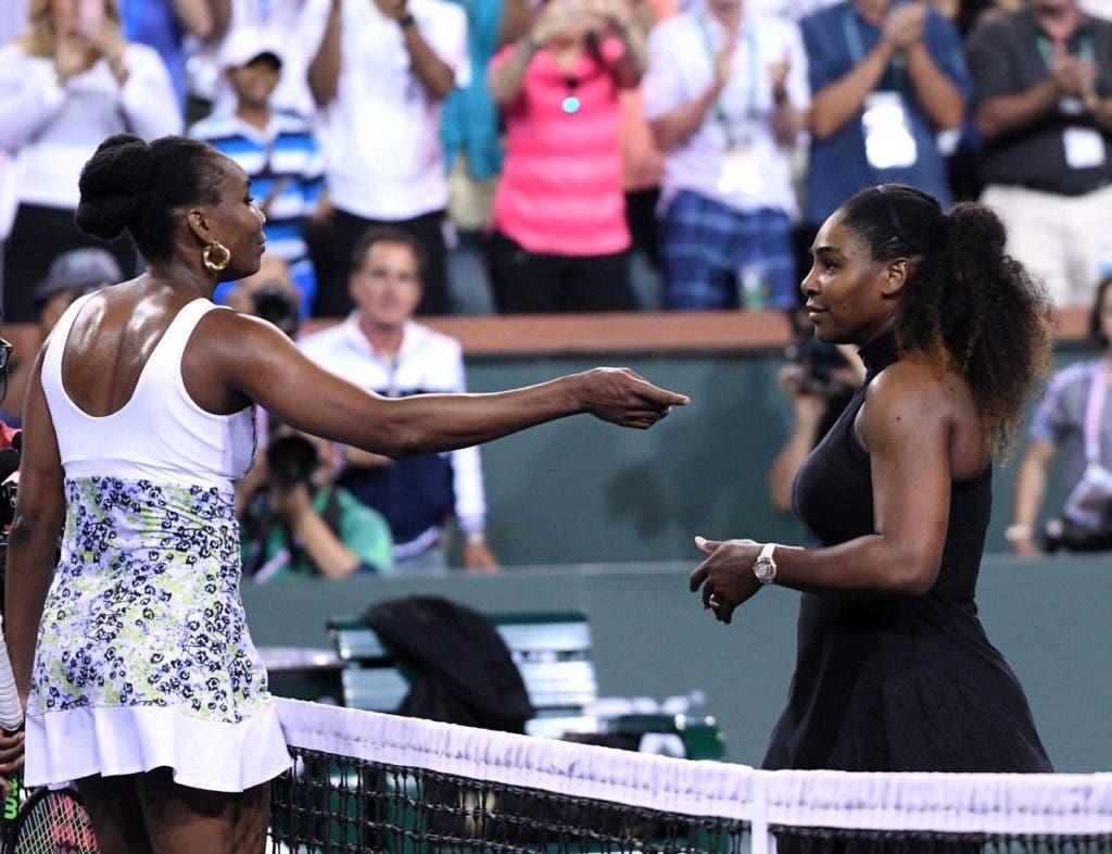 Serena Williams: «A minha irmã jogou um nível acima do que é habitual»