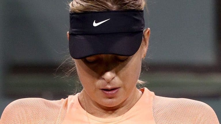 Maria Sharapova desiste do Miami Open