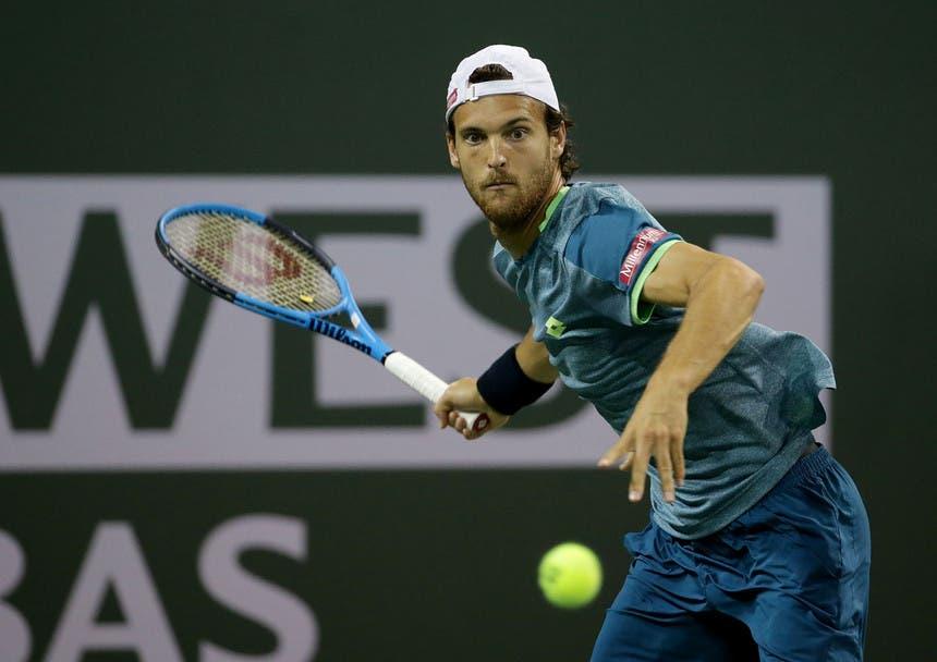 João Sousa luta muito mas é travado por Raonic na terceira ronda em Indian Wells