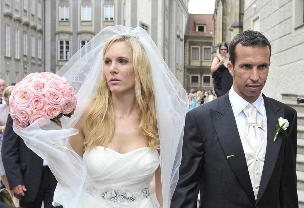Vaidisova e Stepanek reconciliaram-se e vão ser pais pela 1.ª vez