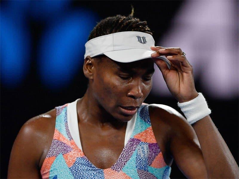 Venus Williams perde com Kontaveit e está eliminada de Roma
