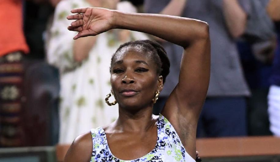 Venus Williams joga muito e já está nos quartos-de-final em Indian Wells