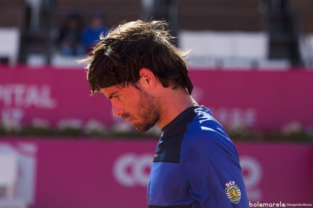 Gastão Elias desiste do Lisboa Belém Open devido a lesão no ombro