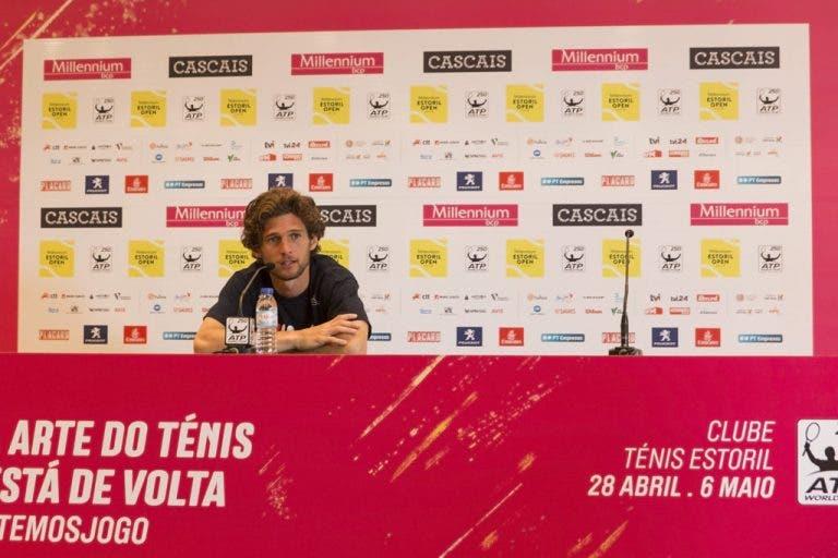 Pedro confirma lesão e não deve jogar pares nem Challenger de Braga
