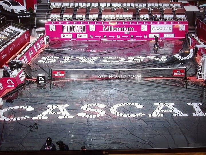 Millennium Estoril Open 2018 suspenso devido à chuva