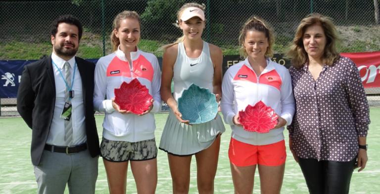 'Sharapova britânica' bate Radwanska em mais de três horas e vence 2.º Óbidos Ladies Open