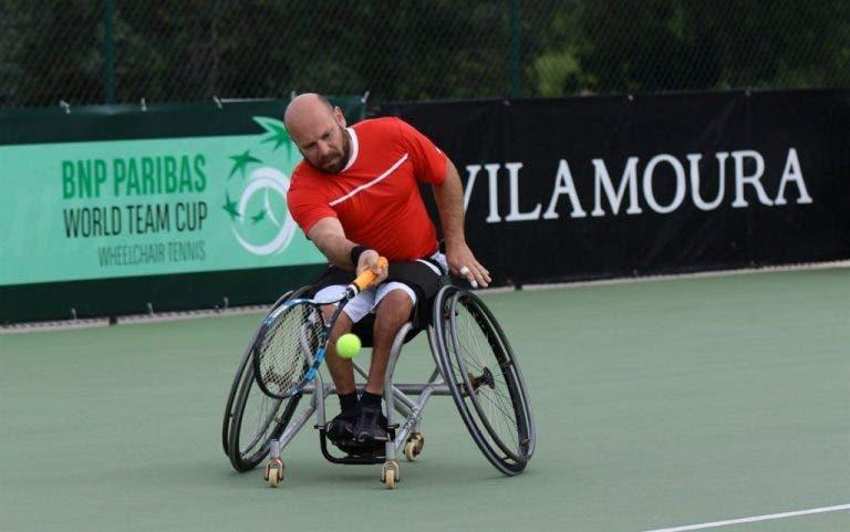 Mundial de cadeira de rondas arrancou em Portugal:  Seleção Nacional em Vilamoura com novidades