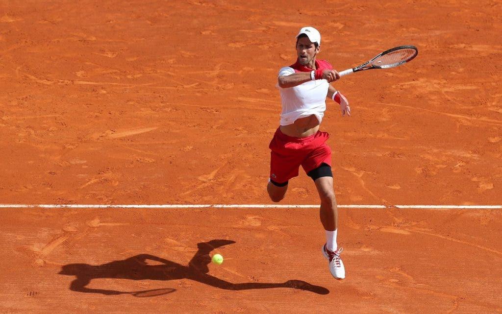 Espectadores em Roma poderão ver Djokovic e oito top 10 esta quarta-feira apenas com um bilhete… de recinto
