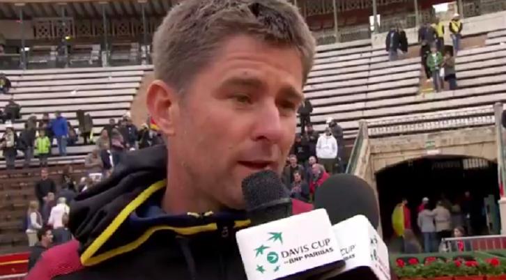 Capitão alemão ironiza após batalha épica: «Saudações ao presidente da ITF, isto é a Taça Davis!»