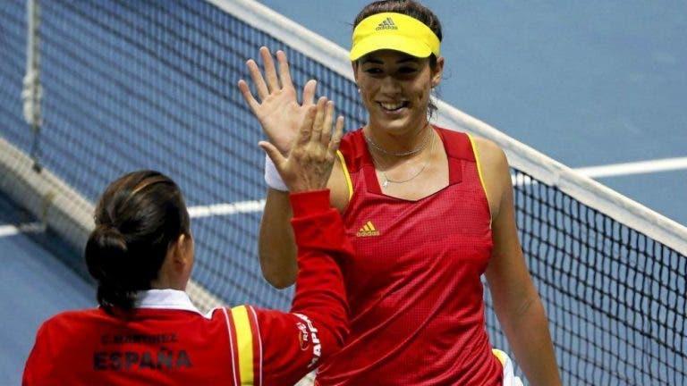 Conchita segura de que Muguruza vai voltar a vencer Grand Slams