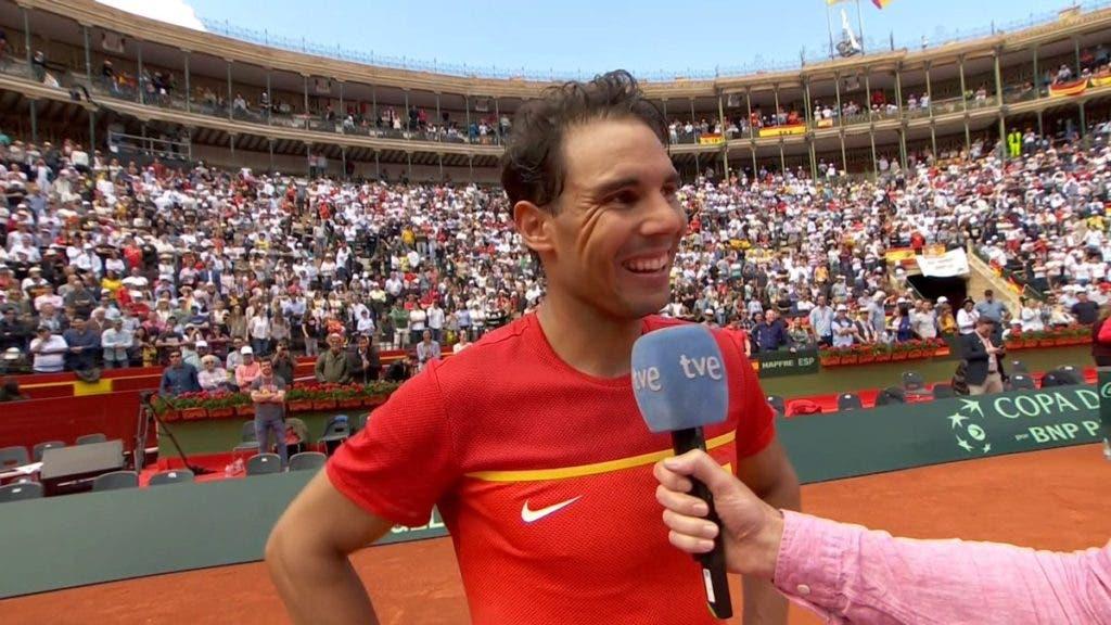 Rafael Nadal: «Não jogava assim sem dores há mais de meio ano»