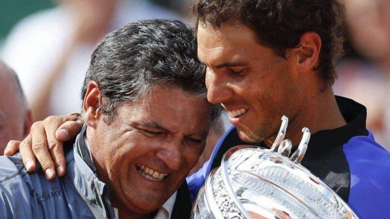 Toni Nadal: «O Rafa teve uma virtude fundamental para ter êxito: soube ouvir e deixou-se guiar»