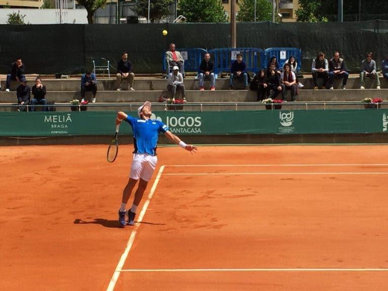 Braga Open. Jovem estrela Casper Ruud vai defrontar Pedro Sousa na final