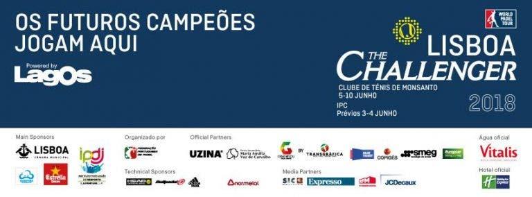 Lisboa Challenger traz os futuros campeões a Portugal de 3 a 10 de junho