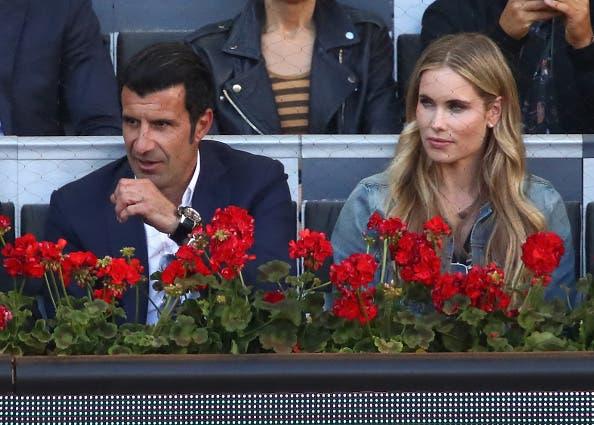 [FOTOS] Ricardinho e Figo não quiseram perder a final de Madrid