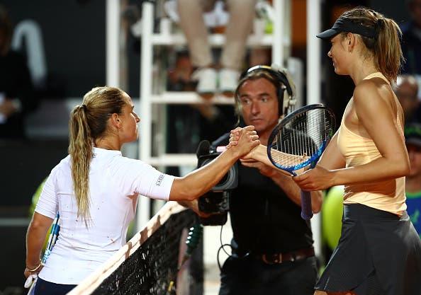 Sharapova ironiza sobre Cibulkova: «Queria ganhar este encontro diante de uma jogadora cheia de… classe»
