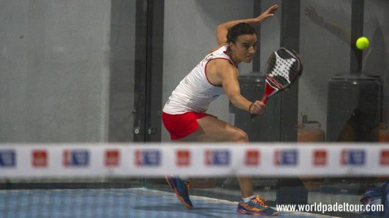 Ana Nogueira travada no Jaén Open por uma das melhores jogadoras do mundo