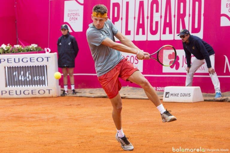 [VÍDEO] Braga, 1.ª meia-final: Alex De Minaur vs. Casper Ruud, em DIRETO