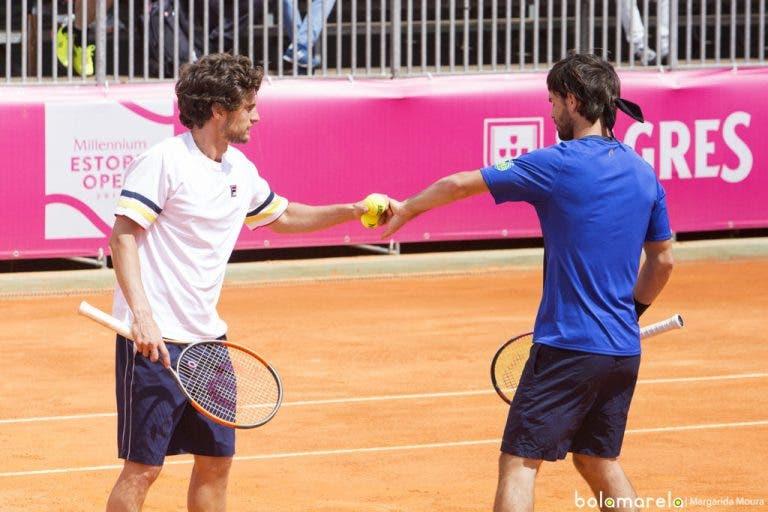 Gastão Elias e Pedro Sousa eliminados nas meias-finais de pares do Braga Open