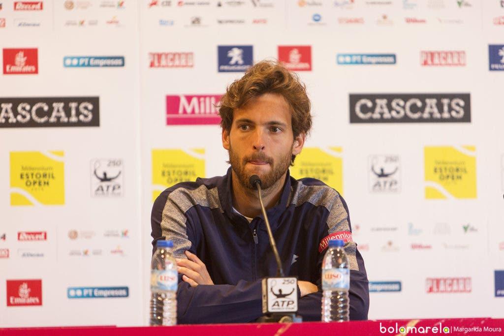 João Sousa: «O primeiro set foi dos melhores da minha carreira em terra batida. Foi incrível»