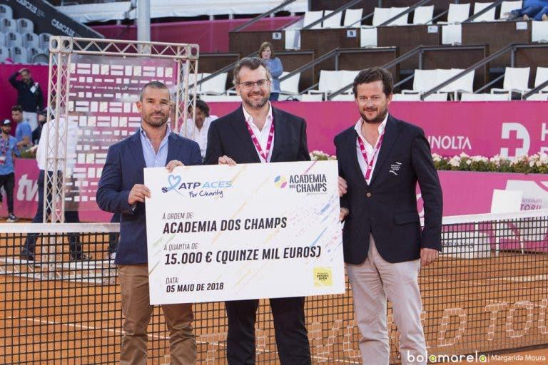 ATP World Tour premeia Academia dos Champs no Estoril